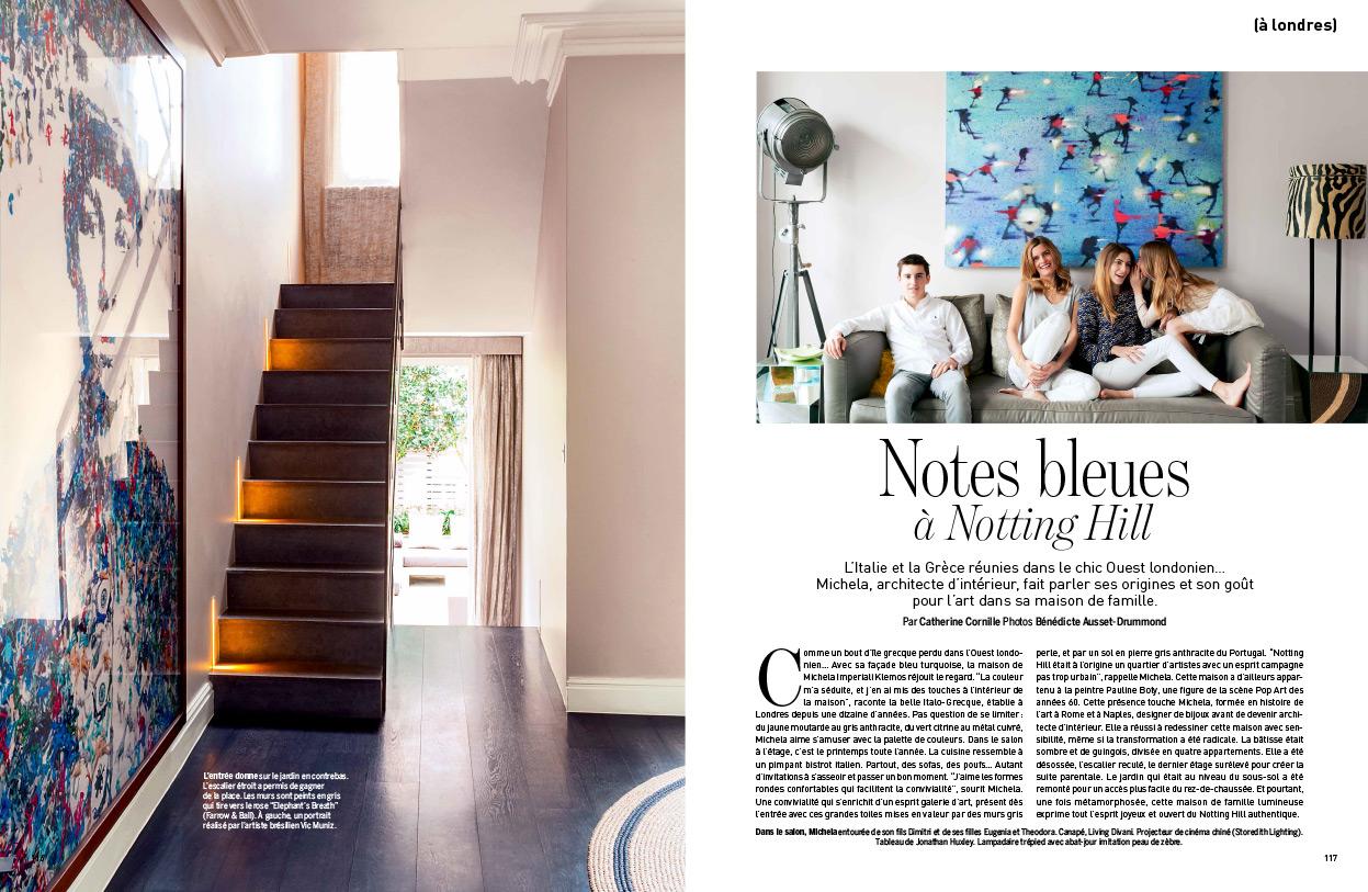 mik interiors marie claire maison. Black Bedroom Furniture Sets. Home Design Ideas